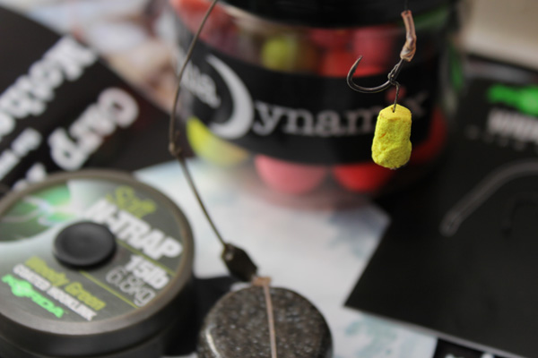 Trimmed down hook baits are the order of the day for fishing over small freebies