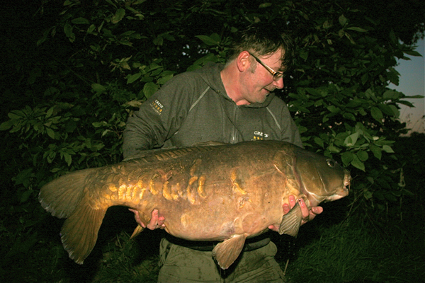 No longer with us the famous Blackeye. Big Carp are not immortal so go and get them. When I cradled this fella at 52lb 6oz caught float fishing I couldn't stop grinning for a week. But is it worth the heartache? Only you can decide.
