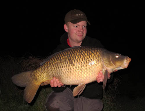 A chunky little common caught on the tactics outlined last winter