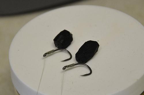 Black foam zigs