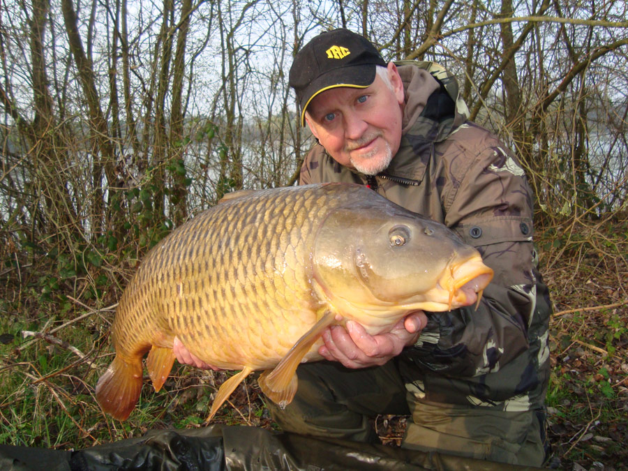 Drafty with a 42.10lb from a weedy water